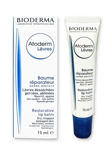 Bioderma BIODERMA Atoderm Lip Balm 15 ml Renksiz